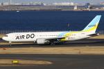 masa707さんが、羽田空港で撮影したAIR DO 767-33A/ERの航空フォト(写真)