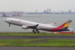 yabyanさんが、羽田空港で撮影したアシアナ航空 A330-323Xの航空フォト(飛行機 写真・画像)