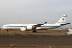 セブンさんが、新千歳空港で撮影したクウェート政府 A340-542の航空フォト(飛行機 写真・画像)