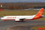 セブンさんが、新千歳空港で撮影したチェジュ航空 737-82Rの航空フォト(飛行機 写真・画像)