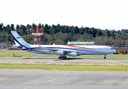 雲霧さんが、成田国際空港で撮影したスワジランド政府 A340-313の航空フォト(飛行機 写真・画像)