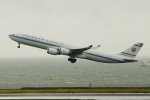 OMAさんが、羽田空港で撮影したクウェート政府 A340-542の航空フォト(飛行機 写真・画像)