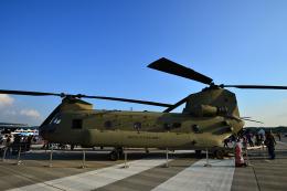 アカゆこさんが、ソウル空軍基地で撮影したアメリカ陸軍 CH-47Fの航空フォト(飛行機 写真・画像)