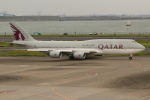 OMAさんが、羽田空港で撮影したカタールアミリフライト 747-8KB BBJの航空フォト(飛行機 写真・画像)