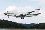 あゑぱかさんが、広島空港で撮影したオマーン・ロイヤル・フライト 747SP-27の航空フォト(飛行機 写真・画像)