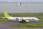 yabyanさんが、羽田空港で撮影したソラシド エア 737-86Nの航空フォト(飛行機 写真・画像)