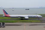 yabyanさんが、羽田空港で撮影したアメリカン航空 777-323/ERの航空フォト(飛行機 写真・画像)