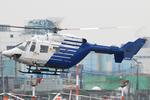 Chofu Spotter Ariaさんが、東京ヘリポートで撮影したファーストエアートランスポート BK117C-1の航空フォト(飛行機 写真・画像)