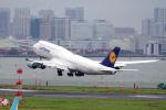 yabyanさんが、羽田空港で撮影したルフトハンザドイツ航空 747-830の航空フォト(写真)