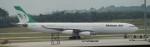 100分の1の飛旅人さんが、クアラルンプール国際空港で撮影したマーハーン航空 A340-313Xの航空フォト(飛行機 写真・画像)