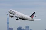 yabyanさんが、羽田空港で撮影したエールフランス航空 777-228/ERの航空フォト(飛行機 写真・画像)