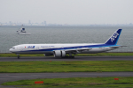 yabyanさんが、羽田空港で撮影した全日空 777-381/ERの航空フォト(飛行機 写真・画像)