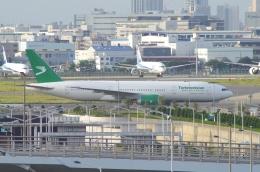 tasho0525さんが、羽田空港で撮影したトルクメニスタン航空 777-22K/LRの航空フォト(飛行機 写真・画像)