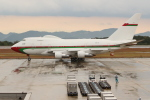 OMAさんが、広島空港で撮影したオマーン・ロイヤル・フライト 747SP-27の航空フォト(飛行機 写真・画像)