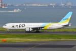 うとPさんが、RJTTで撮影したAIR DO 767-33A/ERの航空フォト(写真)