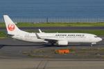 うとPさんが、RJTTで撮影した日本航空 737-846の航空フォト(写真)