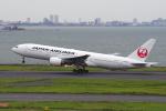 yabyanさんが、羽田空港で撮影した日本航空 777-289の航空フォト(写真)