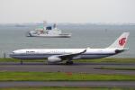 yabyanさんが、羽田空港で撮影した中国国際航空 A330-343Xの航空フォト(飛行機 写真・画像)