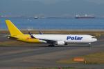 yabyanさんが、名古屋飛行場で撮影したポーラーエアカーゴ 767-3JHF(ER)の航空フォト(飛行機 写真・画像)