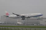 NH642さんが、福岡空港で撮影したチャイナエアライン A340-313Xの航空フォト(飛行機 写真・画像)
