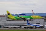 NH642さんが、福岡空港で撮影した中国東方航空 737-89Pの航空フォト(飛行機 写真・画像)