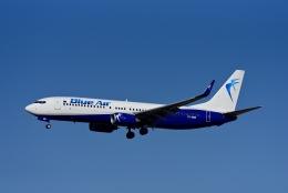 Frankspotterさんが、フランクフルト国際空港で撮影したブルー・エア 737-82Rの航空フォト(飛行機 写真・画像)
