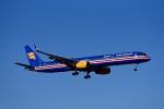 Frankspotterさんが、フランクフルト国際空港で撮影したアイスランド航空 757-3E7の航空フォト(飛行機 写真・画像)