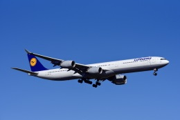 航空フォト:D-AIHZ ルフトハンザドイツ航空 A340-600
