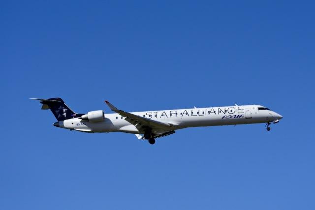 Frankspotterさんが、フランクフルト国際空港で撮影したアドリア航空 CL-600-2D24 Regional Jet CRJ-900LRの航空フォト(飛行機 写真・画像)