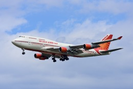 Frankspotterさんが、フランクフルト国際空港で撮影したエア・インディア 747-437の航空フォト(飛行機 写真・画像)