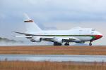 板付蒲鉾さんが、広島空港で撮影したオマーン・ロイヤル・フライト 747SP-27の航空フォト(写真)