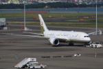 やつはしさんが、羽田空港で撮影したブルネイ政府 787-8 Dreamlinerの航空フォト(写真)