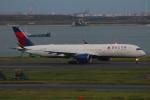 やつはしさんが、羽田空港で撮影したデルタ航空 A350-941XWBの航空フォト(写真)