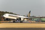 SGR RT 改さんが、成田国際空港で撮影したシンガポール航空 777-312/ERの航空フォト(写真)