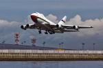 あお♪さんが、関西国際空港で撮影したオマーン・ロイヤル・フライト 747SP-27の航空フォト(飛行機 写真・画像)