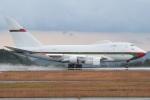MOR1(新アカウント)さんが、広島空港で撮影したオマーン・ロイヤル・フライト 747SP-27の航空フォト(飛行機 写真・画像)