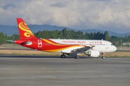 KKiSMさんが、鹿児島空港で撮影した香港航空 A320-214の航空フォト(飛行機 写真・画像)