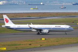 yabyanさんが、中部国際空港で撮影した中国国際航空 A321-232の航空フォト(飛行機 写真・画像)