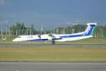 KKiSMさんが、鹿児島空港で撮影したANAウイングス DHC-8-402Q Dash 8の航空フォト(写真)