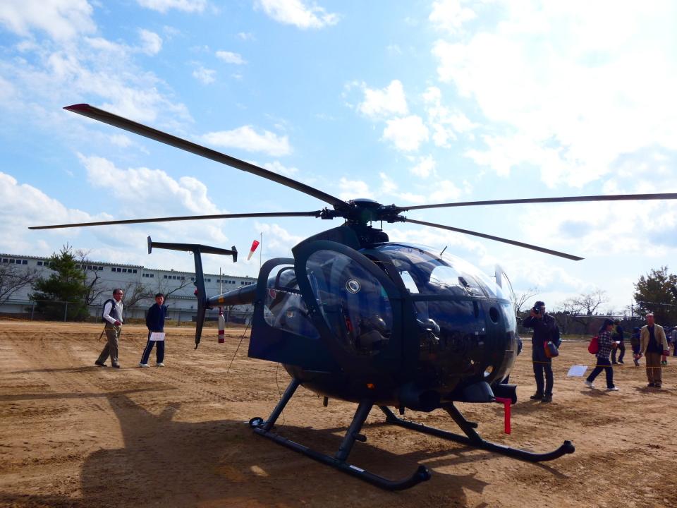yutopさんの陸上自衛隊 Kawasaki OH-6D (31306) 航空フォト