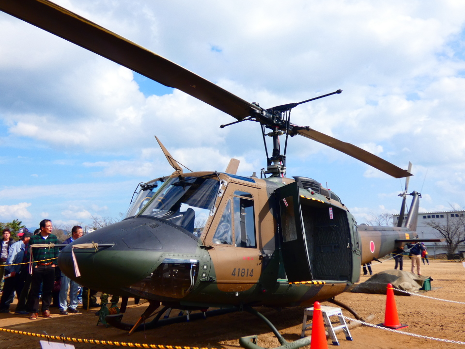 yutopさんの陸上自衛隊 Fuji UH-1J (41814) 航空フォト