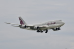 beimax55さんが、羽田空港で撮影したカタールアミリフライト 747-8KB BBJの航空フォト(写真)