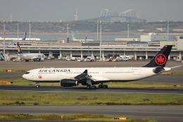 kikiさんが、羽田空港で撮影したエア・カナダ A330-300の航空フォト(飛行機 写真・画像)
