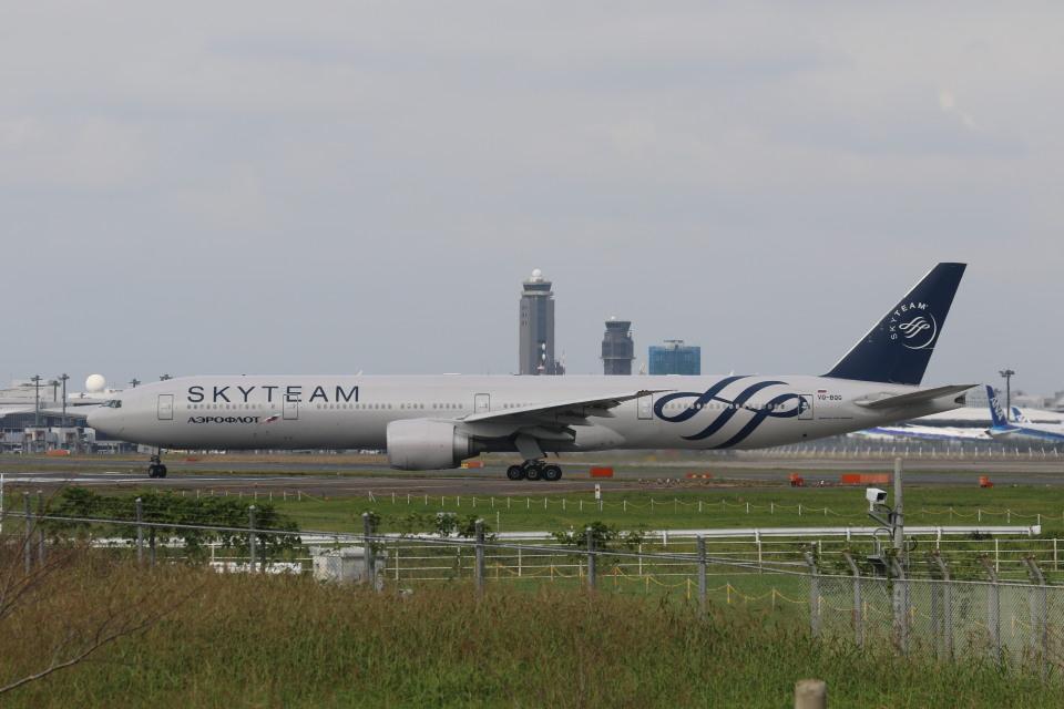 matsuさんのアエロフロート・ロシア航空 Boeing 777-300 (VQ-BQG) 航空フォト