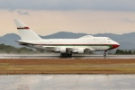 OMAさんが、広島空港で撮影したオマーン・ロイヤル・フライト 747SP-27の航空フォト(写真)