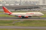 OMAさんが、羽田空港で撮影したエア・インディア 747-437の航空フォト(飛行機 写真・画像)