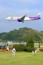 くれないさんが、福岡空港で撮影した香港エクスプレス A321-231の航空フォト(写真)
