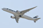 panchiさんが、関西国際空港で撮影したフィンエアー A350-941XWBの航空フォト(飛行機 写真・画像)