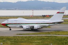 きんめいさんが、関西国際空港で撮影したオマーン・ロイヤル・フライト 747SP-27の航空フォト(飛行機 写真・画像)