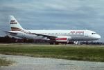 tassさんが、ロンドン・ガトウィック空港で撮影したエア2000 A320-231の航空フォト(飛行機 写真・画像)
